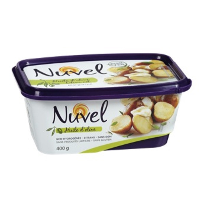 Nuvel – Margarine with olive oil non-hydrogenated