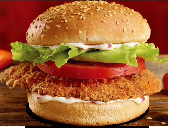 Spicy Habanero Chicken Burger Vroom Get Anything