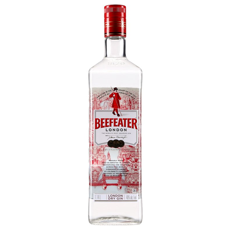 Beefeater Dry Gin 1 14 L Pda Vroom Get Anything Delivered To